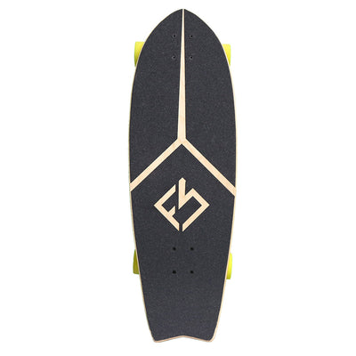 Fish Tail Surf Skateboard