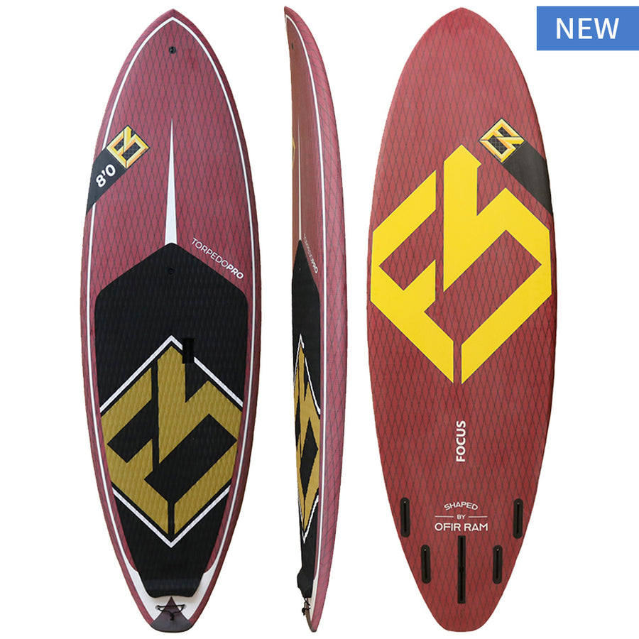 Torpedo Pro Surf SUP Board-8'