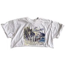 VINTAGE WINTER WOLF CROP TEE