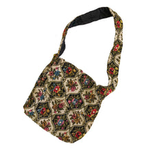 VINTAGE TAPESTRY SHOULDER BAG