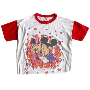 VINTAGE MICKEY & MINNIE LOVERS TEE