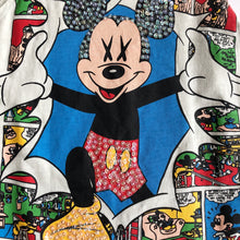 VINTAGE EMBELLISHED COMIC MICKEY TANK