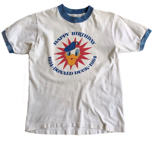VINTAGE 80'S DONALD RINGER TEE