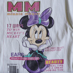 VINTAGE MINNIE MAGAZINE TEE