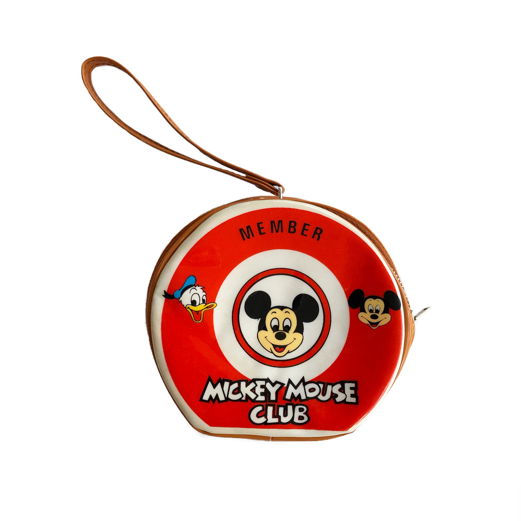 VINTAGE MICKEY MOUSE CLUB MINI WRISTLET BAG