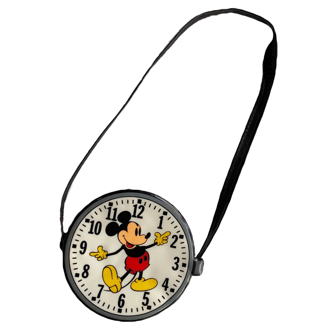 VINTAGE MICKEY MINI CLOCK BAG