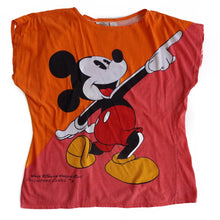 VINTAGE COLORBLOCK MICKEY TEE