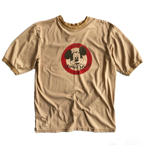 VINTAGE MICKEY MOUSE CLUB RINGER TEE