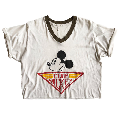 VINTAGE 80'S CLUB MICKEY RINGER