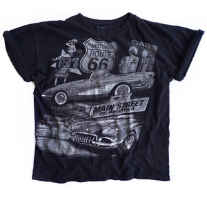 VINTAGE RT 66 CLASSIC CAR TEE