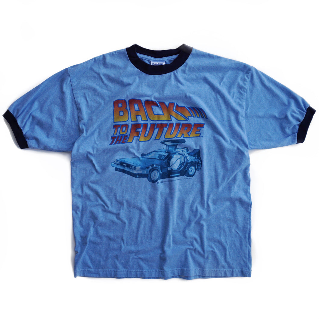 VINTAGE BACK TO THE FUTURE RINGER TEE