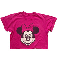 VINTAGE CLASSIC MINNIE MOUSE CROP TEE
