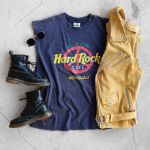 VINTAGE HARD ROCK ALL IS ONE MUSCLE TEE