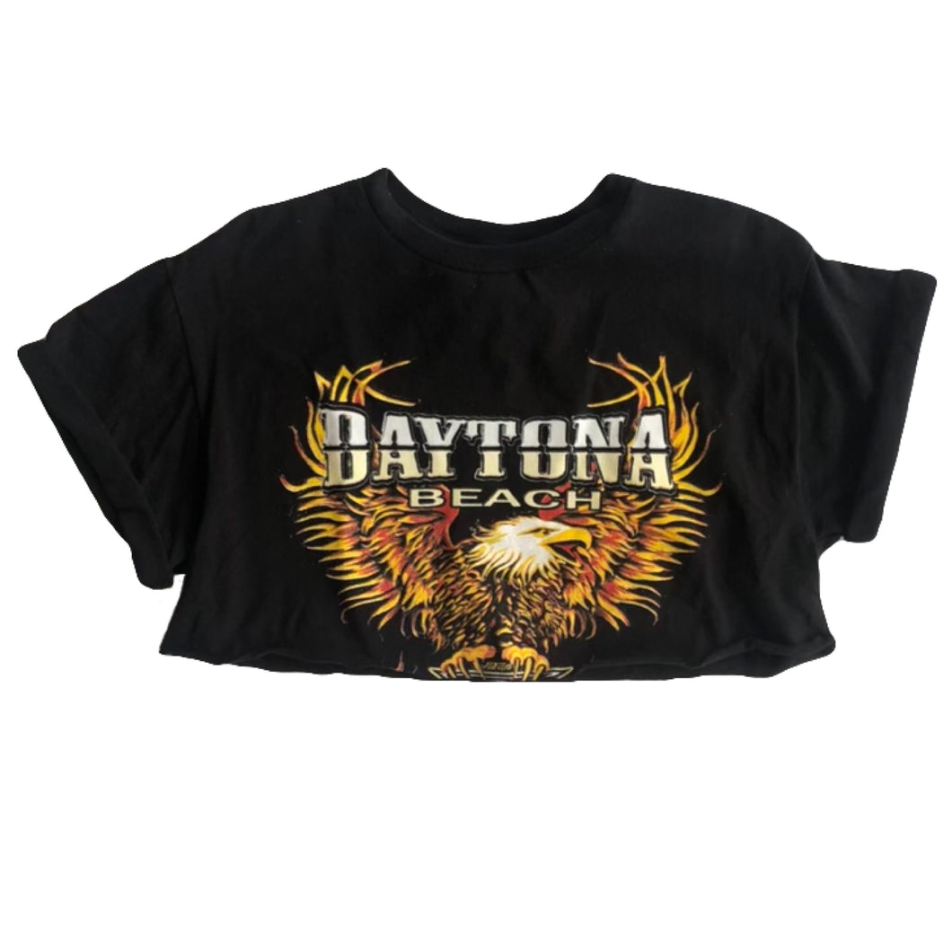 VINTAGE DAYTONA BIKE WEEK CROPPED TEE