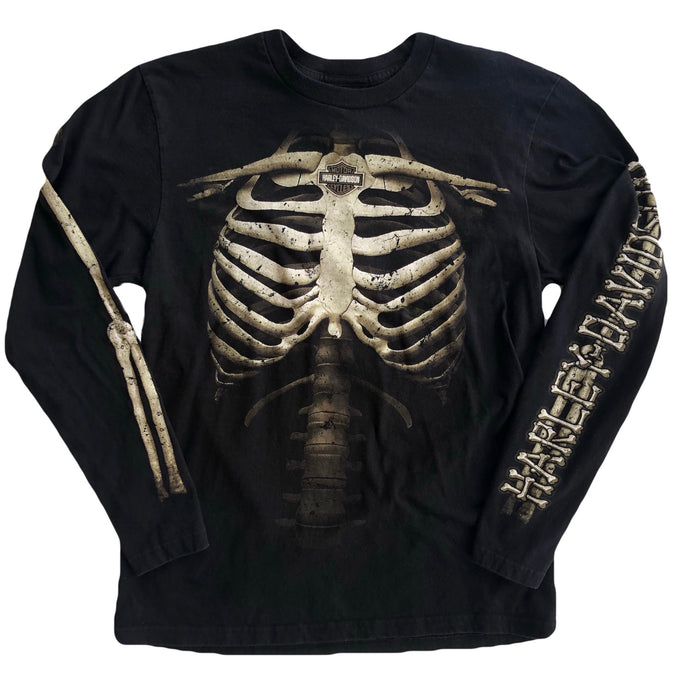 VINTAGE HARLEY SKELETON LONG SLEEVE