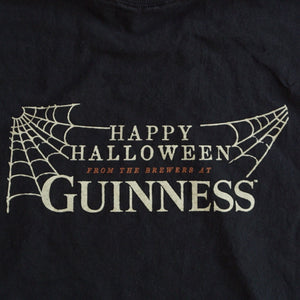 VINTAGE HALLOWEEN GUINNESS CROPPED MUSCLE TEE