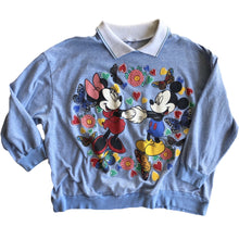VINTAGE COLLARED MICKEY & MINNIE CREWNECK