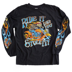 VINTAGE RIDE IT LIKE YOU STOLE IT LONG SLEEVE