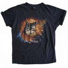 VINTAGE HARLEY FEATHER WOLF TEE