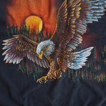 VINTAGE SUNSET EAGLE MUSCLE TEE