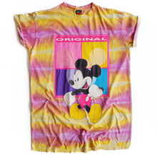 VINTAGE TIE DYE MICKEY TEE DRESS