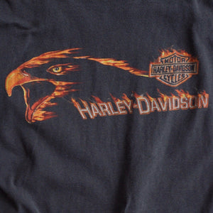 VINTAGE HARLEY FLAMING EAGLE TEE