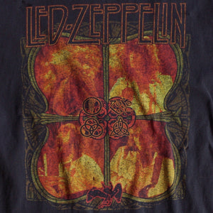 VINTAGE DISTRESSED LED ZEPPELIN MUSCLE TEE
