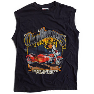 VINTAGE 80'S HARLEYS & WHISKEY TEE