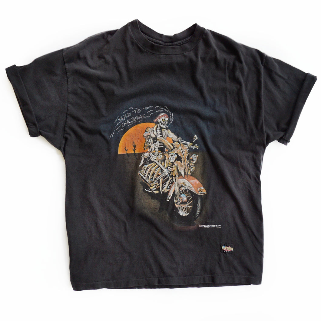 VINTAGE EASYRIDER BAD TO THE BONE TEE