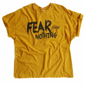 VINTAGE FEAR NOTHING LAKERS TEE