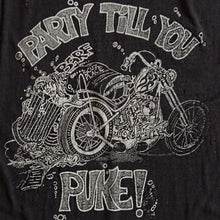 VINTAGE HARLEY PARTY PAPER THIN TEE