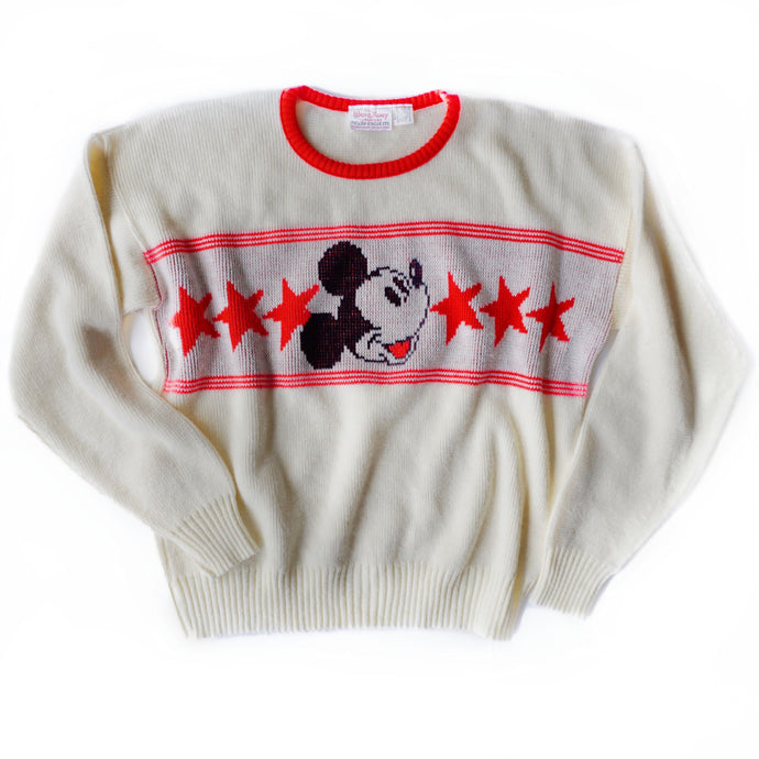 VINTAGE 80'S CLASSIC MICKEY SWEATER
