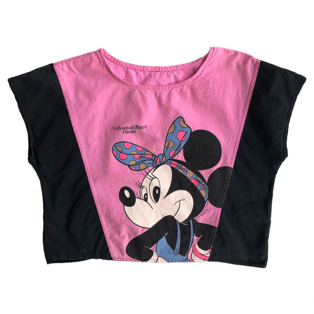 VINTAGE MINNIE MOUSE CROP TOP