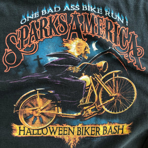 VINTAGE HALLOWEEN BIKER BASH LONG SLEEVE