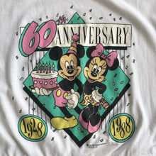 VINTAGE 80'S MICKEY & MINNIE ANNIVERSARY CROP TOP