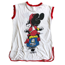 VINTAGE 80'S MICKEY & MINNIE SCOOTER TANK