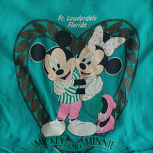 VINTAGE FLORIDA MICKEY & MINNIE CROP TEE