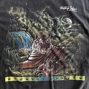 VINTAGE 90'S TIGER WILDLIFE TEE
