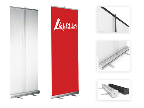 Alpha Production pull up banner