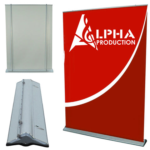Alpha Production wide pull up banner