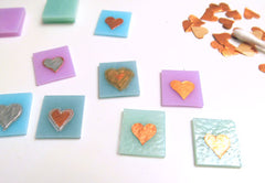 copper heart valentines day jewellery tests
