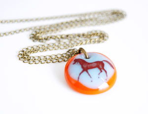 Arabian Horse Necklace