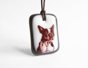 Boston Terrier Necklace