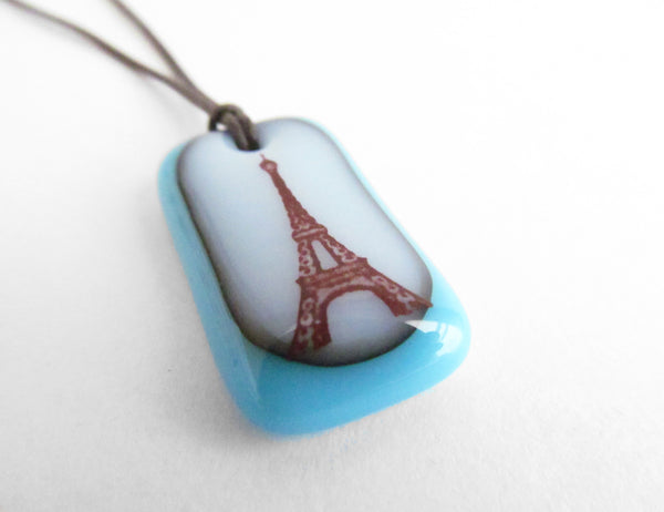 Handmade jewelry gift for Paris lovers.