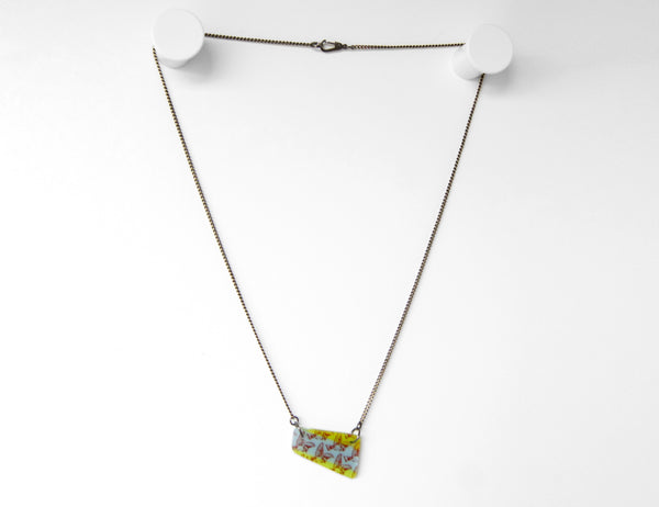 Chain necklace length example.