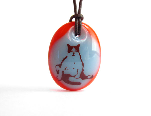 Chubby Cat Necklace