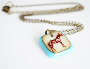 Thoroughbred Horse Necklace