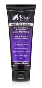 The Mane Choice Green Tea & Carrot Deep Strengthening & Restorative Mask Treatment