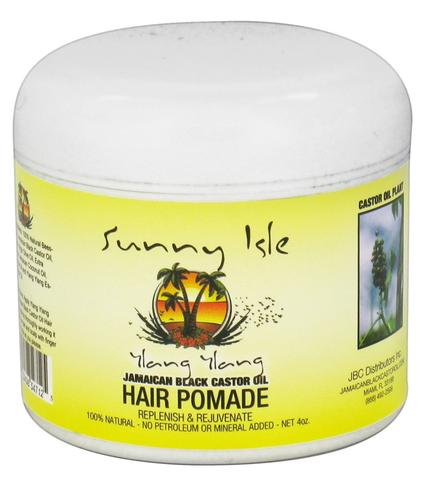 Sunny Isle Jamaican Black Castor Oil Ylang Ylang Hair Pomade