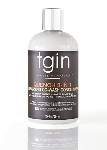 Tgin Quench 3-in-1 Co Wash Conditioner Detangler